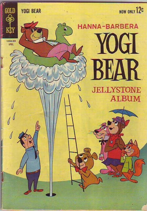 Yogi Bear #12 (Apr-63) VG- Affordable-Grade Yogi Bear, Boo Boo