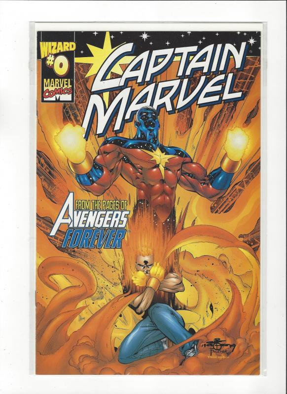 Captain Marvel #0 (2002) Avengers Forever Marvel Comics NM