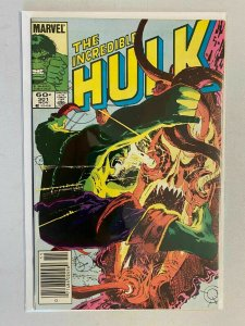 Incredible Hulk #301 Newsstand edition 7.0 FN VF (1984 1st Series)