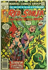RED SONJA#6 VG/FN 1977 MARVEL BRONZE AGE COMICS