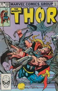 Thor #332 VF; Marvel | save on shipping - details inside
