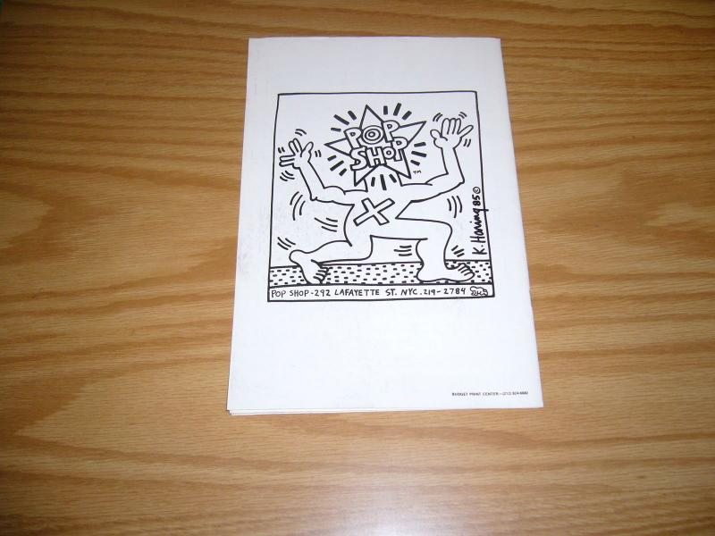 Rappin' Max Robot #1 eric orr - keith haring pop shop - 1st hip hop comic 1986