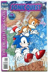 Sonic Quest The Death Egg Saga #1 1996- Sega- Archie Comics VF-