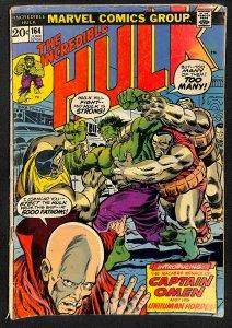 The Incredible Hulk #164 (1973)
