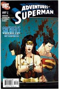 Adventures of Superman #643 Batman, Wonder Woman - NM+