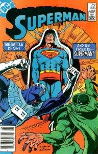 Superman (1st Series) #396 (Newsstand) VG; DC | low grade comic - save on shippi