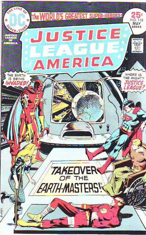 Justice League of America #118 (May-73) VF High-Grade Justice League of America