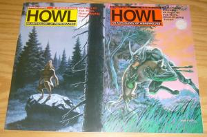 Howl: An Anthology of Werewolves #1-2 VF/NM complete series - horror set 1988