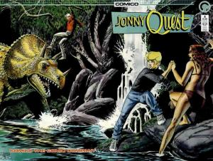 Jonny Quest (Comico) #4 VF/NM; COMICO | save on shipping - details inside