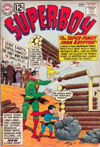 Superboy #95 (Mar-62) FN Mid-Grade Superboy