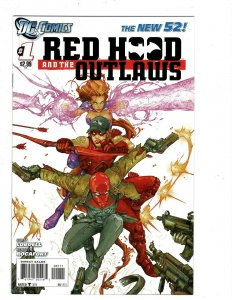 10 Red Hood and the Outlaws DC Comics # 1 2 3 9 14 15 16 18 19 20 Starfire J433