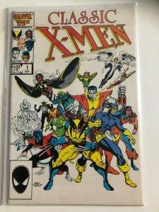 X-MEN CLASSICS #1 1986 MARVEL / NEVER READ / VF/ +/-