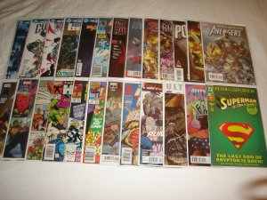 Lot of 25 DC/Marvel Comics High Grade Bagged & Boarded L4