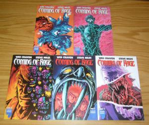 Wes Craven's Coming of Rage #1-5 VF/NM complete series - steve niles 2 3 4 set
