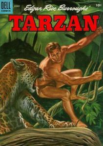 Tarzan (1948 series) #66, VG- (Stock photo)