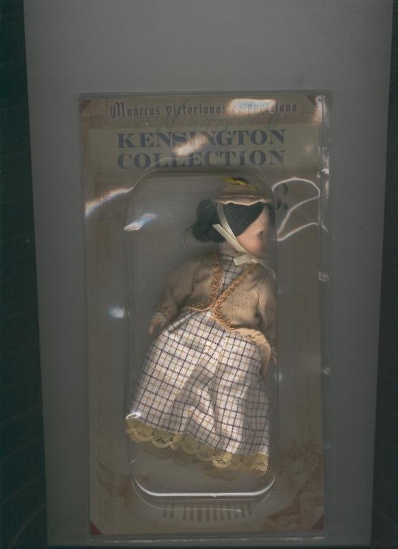 Muñecas Victorianas de Porcelana Kensington Collection modelo 08bis: La Somb...