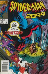 Spider-Man 2099 #14 VF/NM; Marvel | save on shipping - details inside