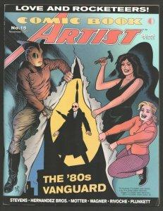 Comic Book Artist #15 2001-TwoMorrows-Dave Stevens & Hernandez Bros interview...