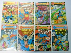 World's Finest lot #245 to #282 27 different books average 5.0 range (1977)