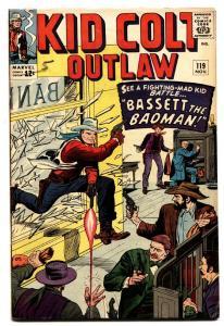 KID COLT OUTLAW #119 comic book 1964 VG/FN