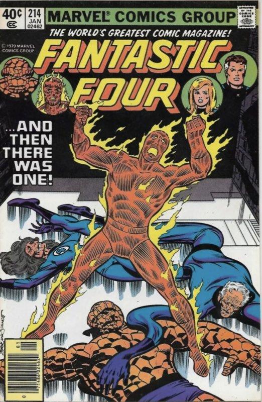 Fantastic Four #214 (1980)