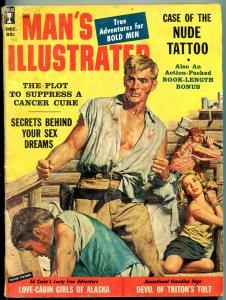 Man's Illustrated Magazine December 1958-NANCY WALTERS-EYE SURGERY-WW G