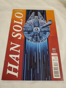 Star Wars Han Solo 1 Near Mint-  Cover by Scott Koblish