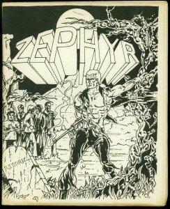 Zephyr #1 1972- British Fanzine- Doc Strange Golden Age comics FN-