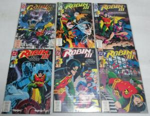 ROBIN III CRY OF THE HUNTRESS (1992)1-6  Dixon Lyle Smi