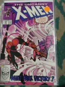 UNCANNY X-MEN #247 1989 MARVEL SENTINELS MASTER MOLD
