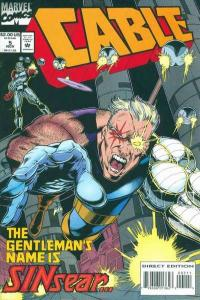 Cable (1993 series) #5, NM- (Stock photo)