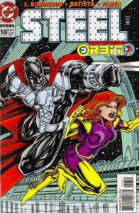 Steel (1994 series) #13, NM (Stock photo)