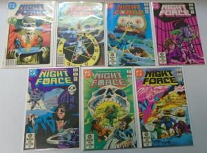 Night Force (1st Series), Set:#1-14, 8.0/VF (1982)