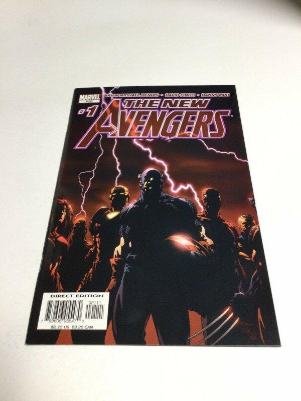 New Avengers 1 Nm Near Mint Marvel