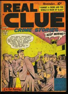 REAL CLUE CRIME STORIES V.4 #9-PRE CODE CRIME VIOLENCE VG
