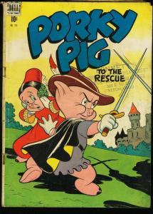 PORKY PIG -DELL FOUR COLOR COMICS #191--ROBIN HOOD STORY VG-