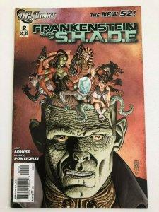 FRANKENSTEIN AGENT OF S.H.A.D.E. #2 The New 52 DC Comics 2011 VF