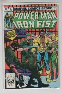 POWER MAN AND IRONFIST (1980 MARVEL) #89 VF+ A98419