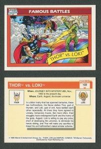 1990 Marvel Comics Card  #123 ( First Kree/Skrull War )  NM-MT