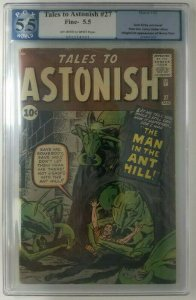 1962 Marvel Tales to Astonish #27 PGX 5.5 (FN-) 1st Appearance of Henry Pym