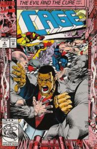 Cage (1992 series) #8, NM + (Stock photo)