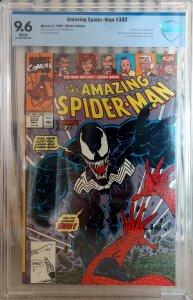 Amazing Spider-Man #332, 2nd Venom App