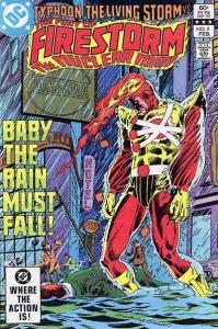 Fury of Firestorm (1982 series) #9, NM- (Stock photo)