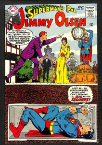 Superman's Pal, Jimmy Olsen #112 (1968)