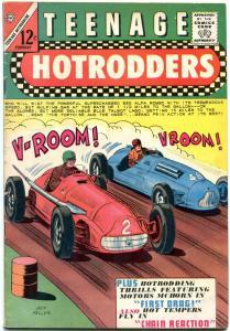 TEENAGE HOTRODDERS #11 1965-CHARLTON-GP RACE-1949 FORD  VG