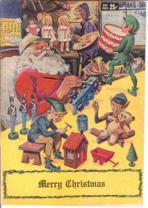MERRY CHRISTMAS-1969 CLASSICS ILL/GILBERTON  uncirc COMICS BOOK
