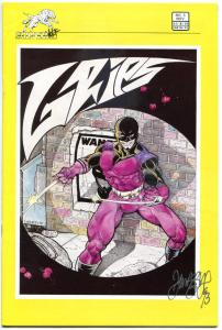 GRIPS #3, VF/NM, Signed by Tim Vigil, SilverWolf, 1986, more indies in our store