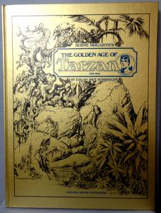 BURNE HOGARTH,The Golden Age of TARZAN,1939-1942 Signed & #,Edgar Rice Burroughs