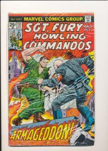 MARVEL #131 Sgt. Fury and His Howling Commandos FINE (SIC004)