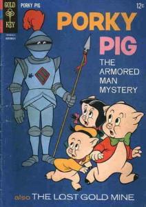 Porky Pig (Gold Key) #9 FN; Gold Key   save on shipping - details inside